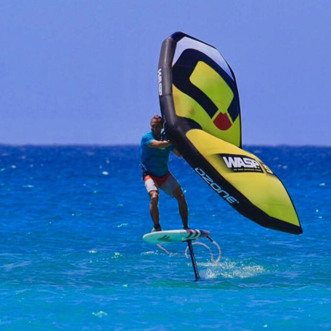 Wingfoiling Barbados